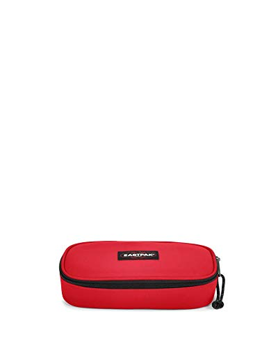 Eastpak Oval Single Estuche, 22 cm, Rojo (Risky Red)