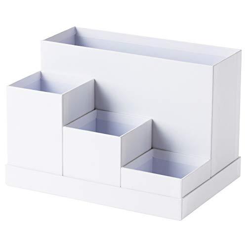 IKEA Tjena 603.954.52 - Organizador de escritorio, color blanco