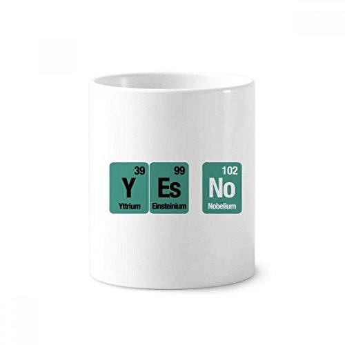 DIYthinker Sí No Propietario de cerámica elemento químico Ciencia taza del...