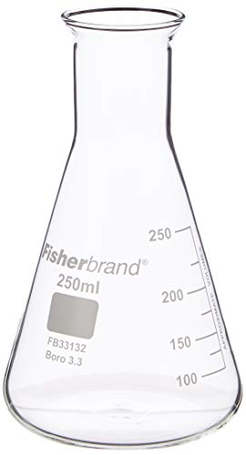 Frasco cónico de vidrio 250ml | Frasco de medición, Frasco molecular, Frasco...