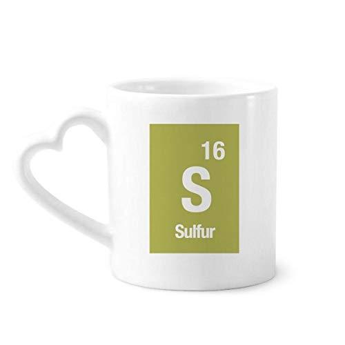 DIYthinker s azufre Elemento químico de la Ciencia Taza de café de la...