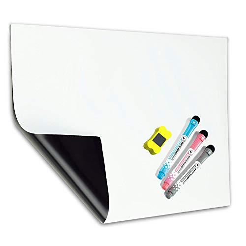 A3 Pizarra Magnética Tablero Blanco de MZMing-Refrigerador Pizarra Magnética...