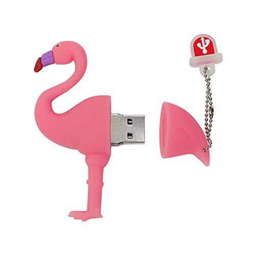 LEIZHAN Memoria USB 16GB,Pendrive USB 2.0 Flash Drive Impermeable Animal...