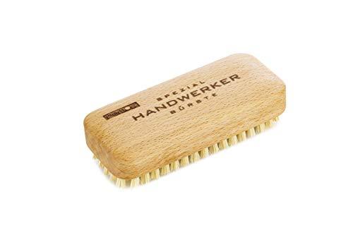 REMOS Cepillo de mano'Artesano' con fibra vegana - madera de haya