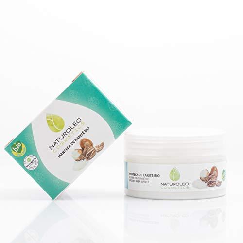 Naturoleo Cosmetics - Manteca Karité BIO - 100% Pura y Natural Ecológica...