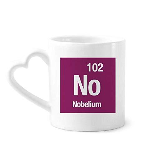 DIYthinker no nobelio Elemento químico química Taza de café de la cerámica...
