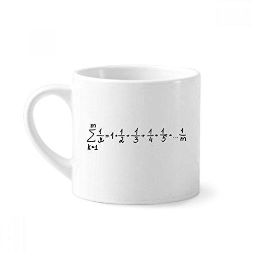 DIYthinker matemáticas Conocimiento tiende fórmula cerámica Mini Taza Taza de...