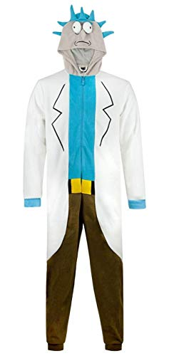 Rick and Morty Rick Sanchez Cosplay Costume Onesie