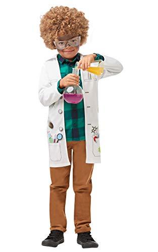 Rubies 's - Disfraz de científico loco oficial para niños, uniforme de médico...
