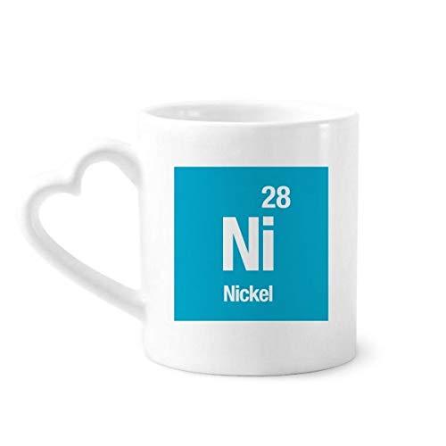 DIYthinker ni níquel Elemento químico de la Ciencia Taza de café de la...