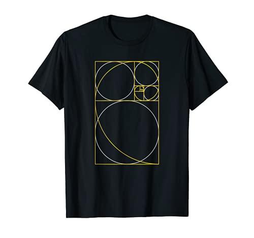 Fibonacci Sequence Golden Ratio Nature Rule Fibo Number Fib Camiseta