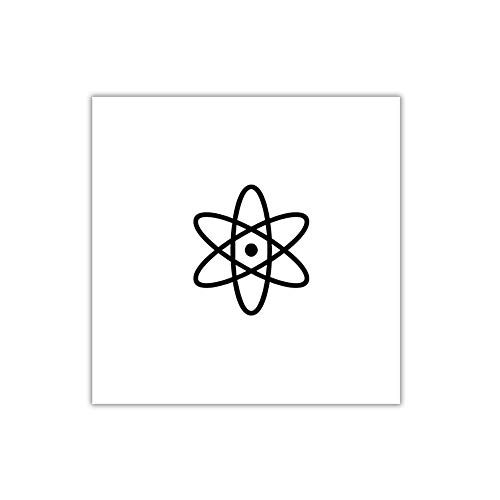 Átomo - Tatuaje temporal (conjunto de 2)