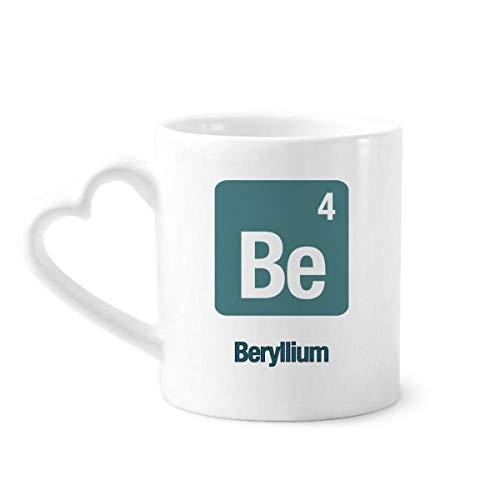 DIYthinker que berilio Elemento químico química Taza de café de la cerámica...