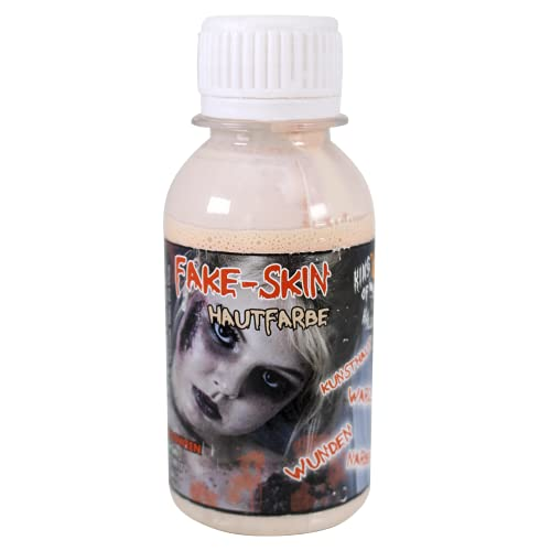 King of Halloween Leche de látex, Tonos de Piel, Piel Artificial, 100 ml, para...