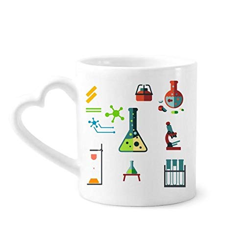 DIYthinker Tubo de ensayo Frasco cónico química Taza de café de la cerámica...