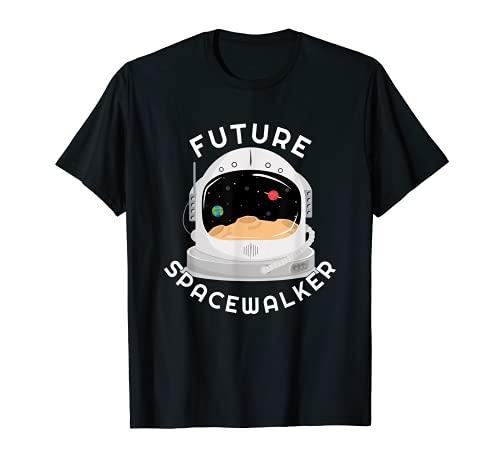 Regalo de casco de astronauta infantil Camiseta