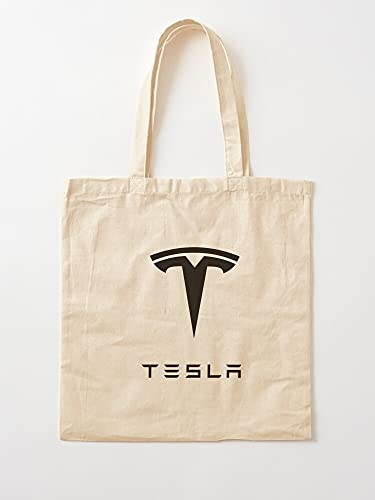 Tesla Musk Car Roadster Mars Elon - Bolsas de lona con asas, algodón duradero