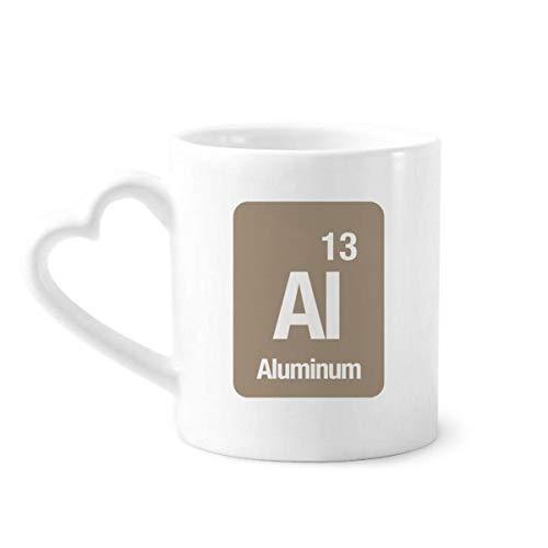 DIYthinker el Aluminio del Elemento químico química Taza de café de la...