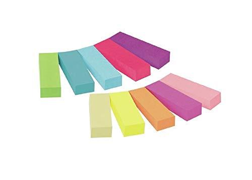 3M Post-It - Marcadores adhesivos para libros Pack 10 x 50 hojas – Notas...