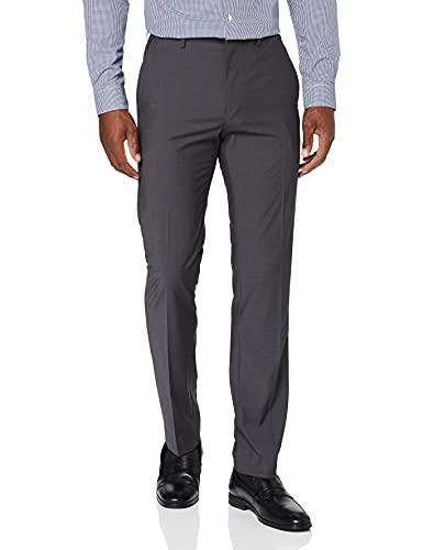 Marca Amazon - find. Pantalones Hombre, Gris (Char), 34W / 31L, Label: 34W / 31L