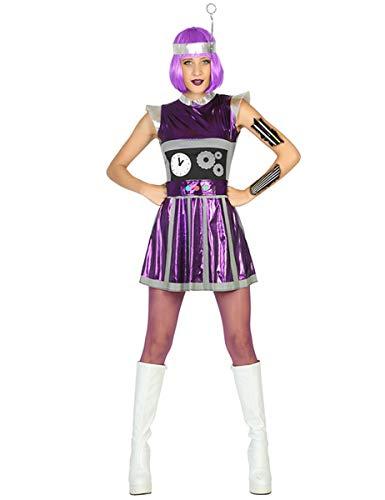 ATOSA disfraz robot mujer adulto M