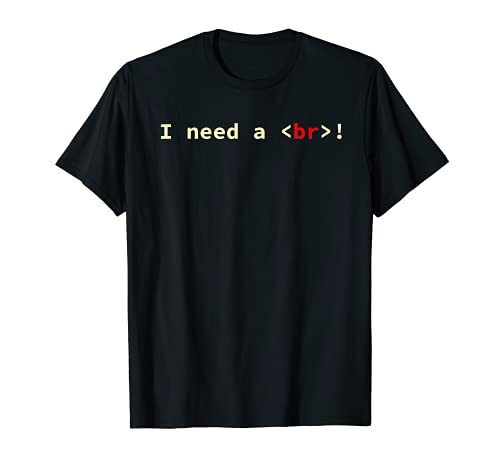 HTML Código CSS Científico informático Geek Coder Camiseta
