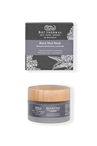 Boí Thermal Black Mud Mask. Mascarilla Facial Detoxificante Y Purificante....