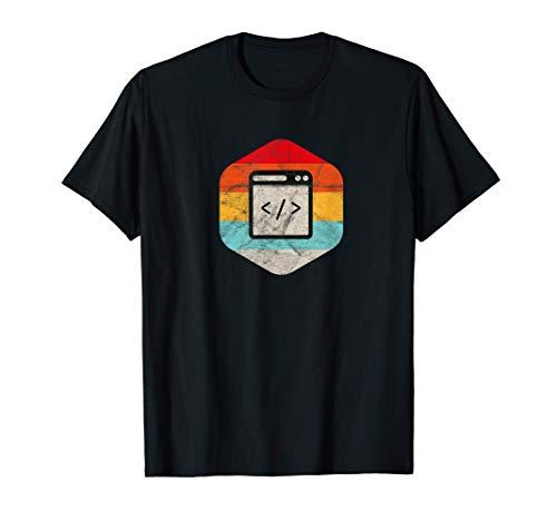 HTML CSS Script Informático Geek Coder Desarrollador PHP Camiseta
