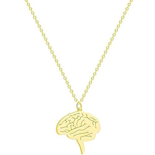 sufengshop Neuron Brain Nerve Cell Colgante Collar Enfermera Doctor Regalo...