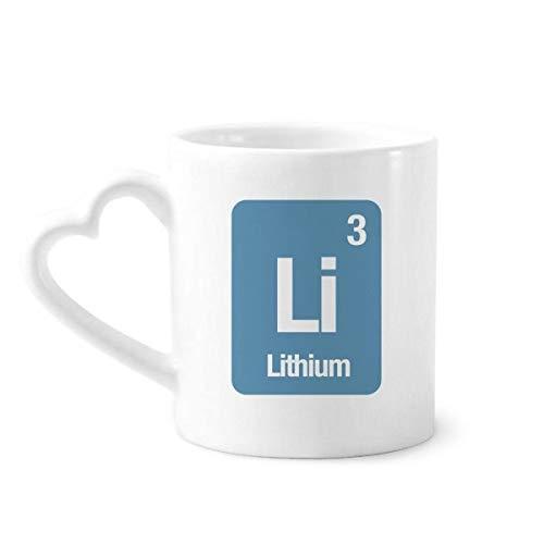DIYthinker el Litio de li Elemento químico de la Ciencia Taza de café de la...