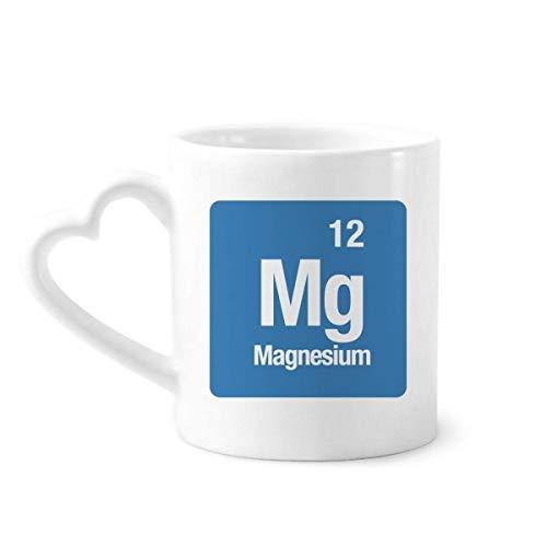 DIYthinker MG de magnesio Elemento químico química Taza de café de la...