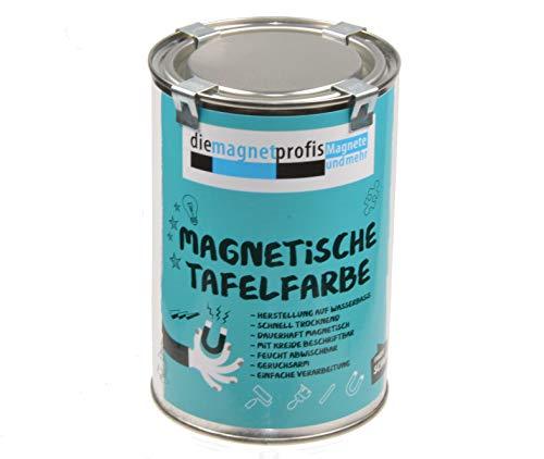 Pintura magnética 2 en 1 para pizarra, mate, magnética, fuerza de adhesión...