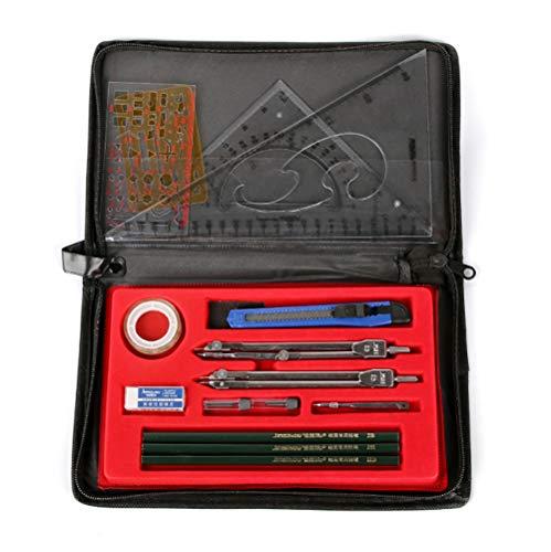 Benrise Instrumentos de dibujo mecánicos Student Mapper, herramienta de dibujo...
