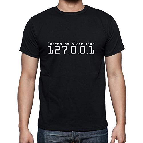 The Fan Tee Camiseta de Hombre Divertidas 127.0.0.1 Sweet Hacker informatica M