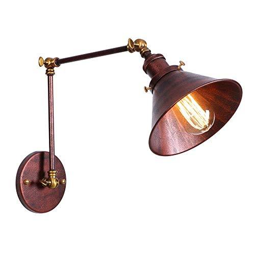 Lámparas de pared Oscilación ajustable Brazo largo Lámparas de pared Loft...