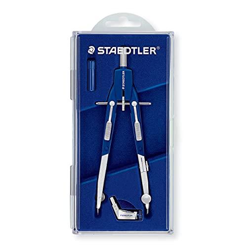 Staedtler 552 01 - Compás, Plateado, Circulo