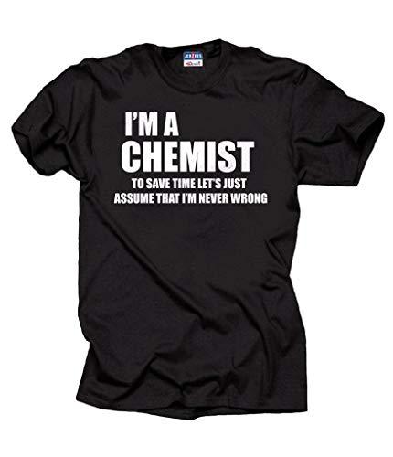 Milky Way Tshirts Química Químico Divertido de los Hombres de la Camiseta...