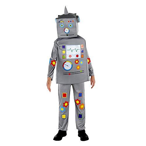 Dress Up America Traje de Robot de súper Lujo Disfraces, Multicolor, talla...