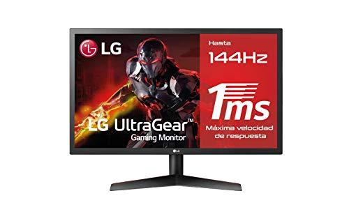 LG 24GL600F-B - Monitor Gaming QHD de 59,8 cm (24') con panel TN (1920 x 1080...