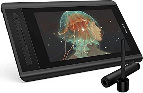 XP-PEN Artist 12 HD IPS Tableta Gráfica de Dibujo Digital con Teclas de Atajo y...