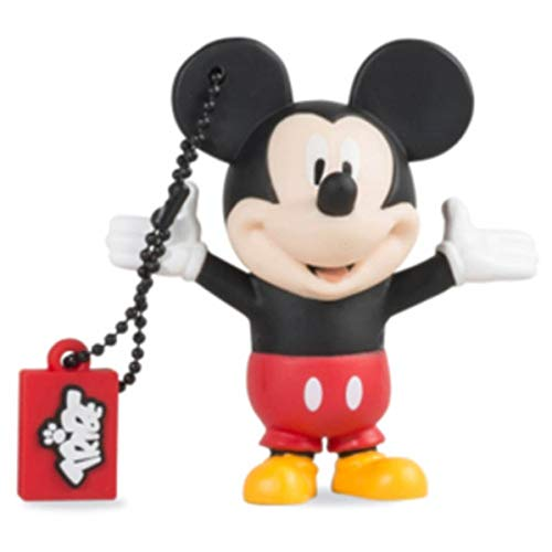 Llave USB 16 GB Mickey Mouse - Memoria Flash Drive 2.0 Original Disney, Tribe...