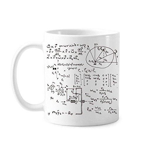 DIYthinker cerámica Taza Matriz matemática fórmulas Ciencia cálculo Figura...