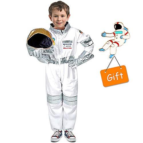 Tacobear Disfraz Astronauta para niños con Casco Astronauta Guantes Astronauta...