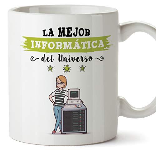 MUGFFINS Informática Tazas Originales de café y Desayuno para Regalar a...