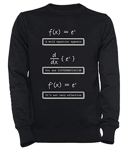 Rundi No Muy Eficaz Matemáticas Hombre Mujer Unisexo Sudadera Jersey Negro...