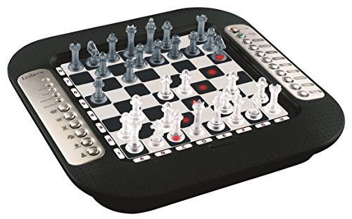 LEXIBOOK- Chessman FX, ajedrez electrónico con Teclado sensitivo y Efectos de...