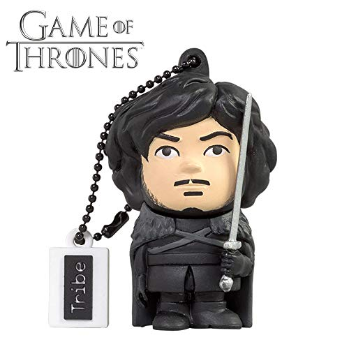 Llave USB 32 GB Jon Snow - Memoria Flash Drive 2.0 Original Game of Thrones,...