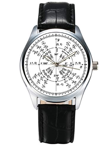 Hermoso reloj de pulsera para los amantes de la matemáticas y ciencia....