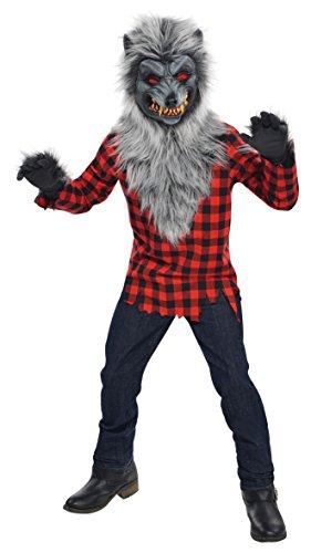 Christys London Disfraz Hombre Lobo para niños y Adolescentes en Varias Tallas...