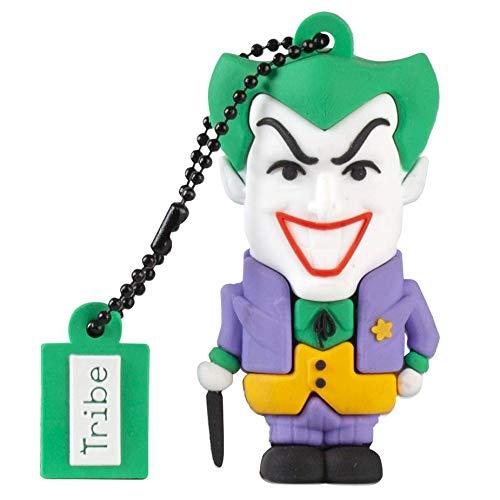 Tribe - Llave USB 16 GB Joker - Memoria Flash Drive 2.0, Personaje Original DC...